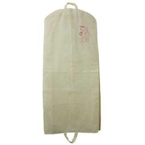 bolsa + portatraje blanco impresion b