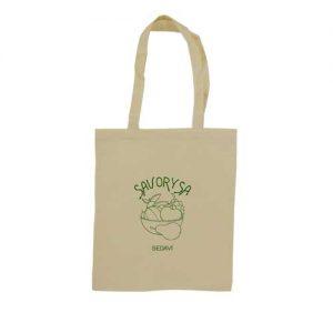 bolsa + algodón con impresión